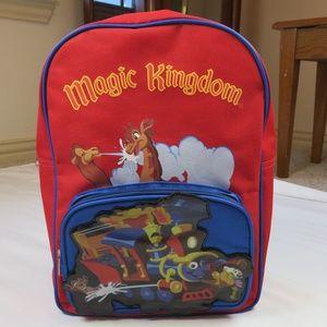 Disney Magic Kingdom Casey Jr. Backpack Children